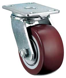60 Series: Drop Forged Casters 2000 lbs capacity each